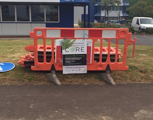 First signs of Gigabit broadband in Orton Southgate - Peterborough Core